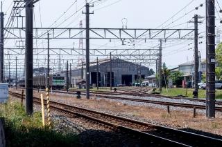 広瀬川原車両基地