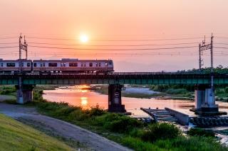 多摩サイ 日野市 中央線跨線橋