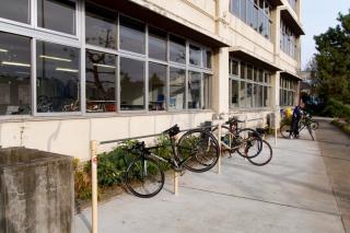 Cycle GATE Tamagawa サイクルゲート多摩川 駐輪場 バイクラック