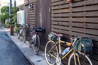 江ノ島小屋 ロードバイク