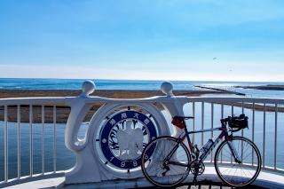 湘南大橋 自転車