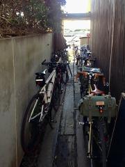 江ノ島小屋 自転車 ロードバイク