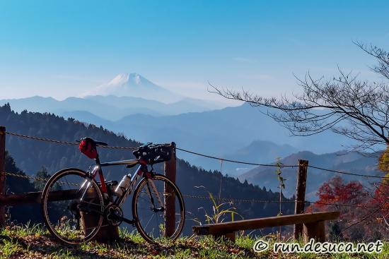 和田峠,裏和田,ロードバイク,富士山