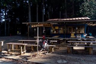 和田峠 峠の茶屋 バイクラック