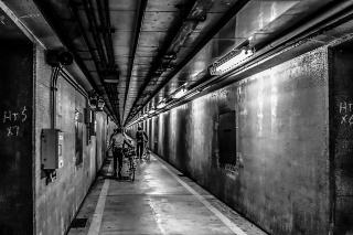 川崎港海底トンネル 自転車
