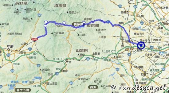 2016-5-12_柳沢峠 自転車 ルート