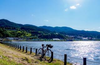 諏訪湖周回 自転車