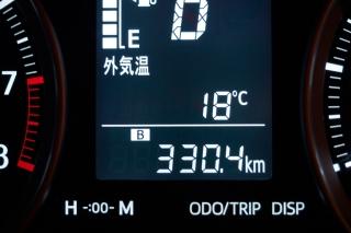 クルマ走行距離 330.4km