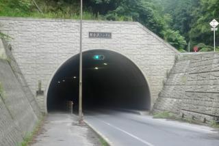 県道293号線 新金沢トンネル
