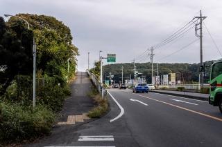 秦野中井インター 自転車