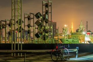 晴海客船ターミナル 夜景