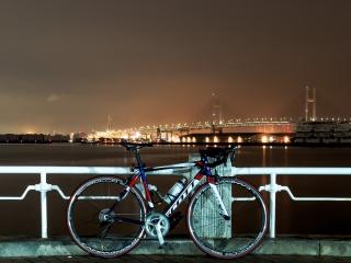 山下公園 横浜ベイブリッジ 夜景