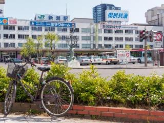 新潟駅 サイクリング