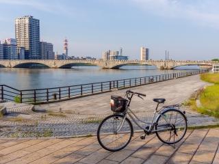 万代橋 新潟サイクリング