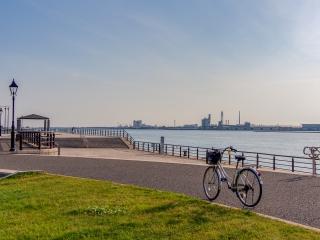 新潟西港 新潟島一周自転車道