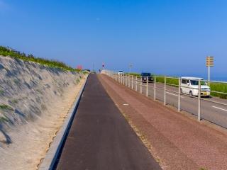 新潟島 サイクリング
