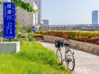 萬代橋 新潟島一周自転車道